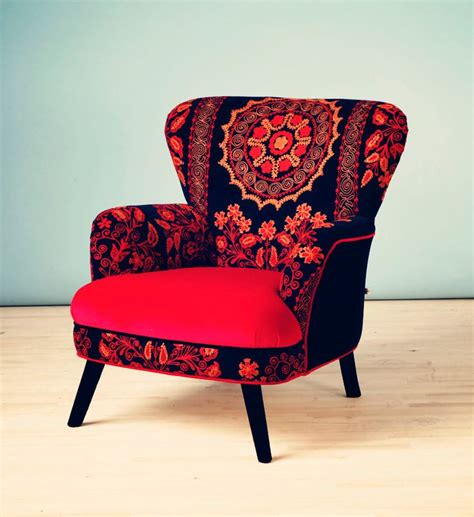 suzani armchair patchwork armchair with suzani furniture worth owning
