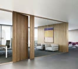 Doors swings modern offices wood colors meeting rooms kitchen ideas