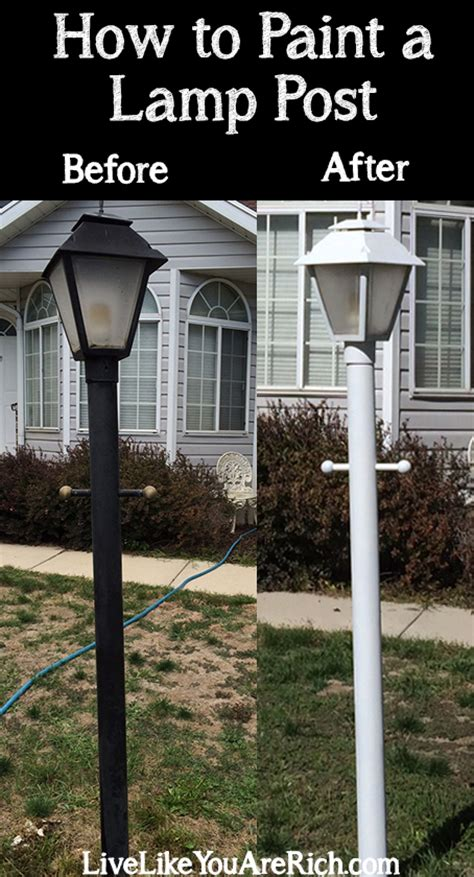 install l post how to install an outdoor light post 17 best images