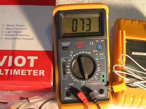 how to check bad capacitors with analog multimeter ac dc dmm digital multimeter with capacitor tester w type k thermocouple professional hvac