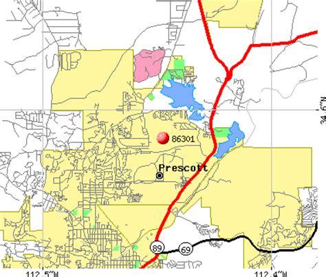 zip code map yavapai county 86301 zip code prescott arizona profile homes