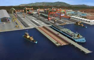 hyundai heavy industries to to build 7 bln shipyard in