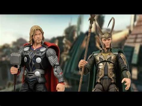 film thor 2011 youtube thor movie marvel select thor loki action figure toy