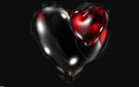 wallpaper dark heart black heart desktop wallpapers free on latoro com