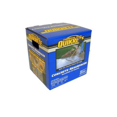 quikrete 40 lb concrete resurfacer 113140 the home depot