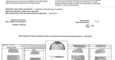 Certified Criminal Record Check Canada Immigration News And Tips