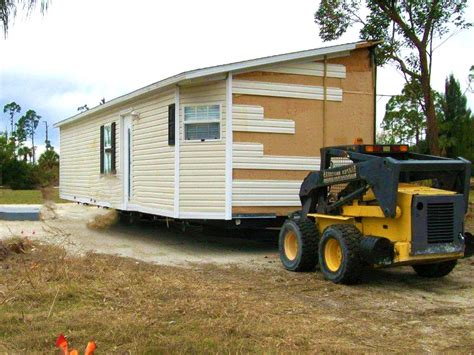 how much does it cost to move a mobile home mobile home