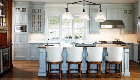 Distressed Blue Kitchen Cabinets Distressed Blue Kitchen Cabinets Cottage Kitchen
