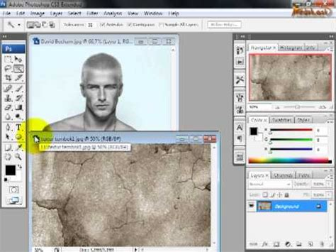 tutorial efek vektor photoshop cs3 tutorial photoshop cs3 efek patung 18 youtube