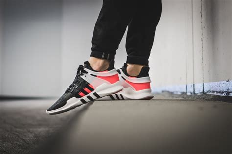 Adidas Eqt Adv 91 17 Mens Import adidas eqt support adv 91 16 black pink white the sole