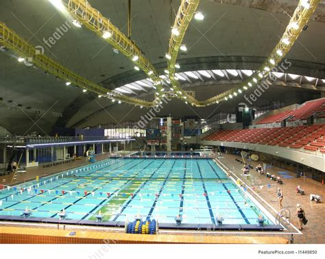 olympic swimming pool stock image   featurepics