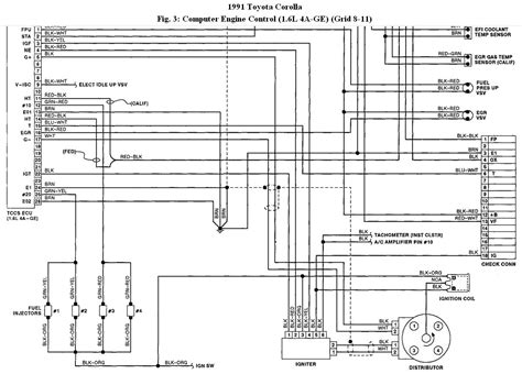 toyota corolla engine wiring diagram wiring diagram manual