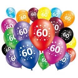 20 ballons anniversaire 60 ans achat vente ballon