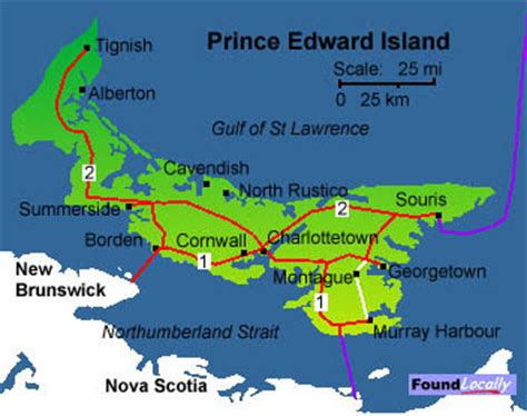 prince edward island map of canada tallest building map of prince edward island pei pictures