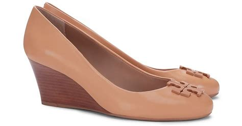 Burch Shoes Lowell Wedge burch lowell wedge in pink lyst