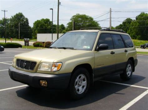 how to sell used cars 2001 subaru forester on board diagnostic system buy used 2001 subaru forester l wagon in west chester pennsylvania united states
