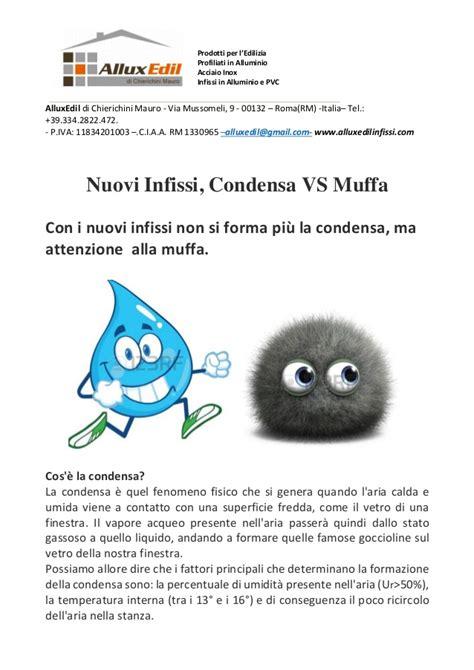 Condensa E Muffa condensa e muffa