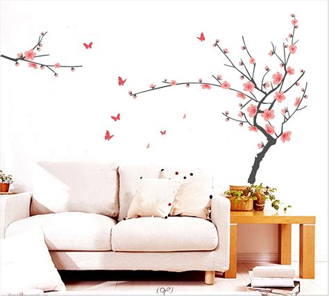 interior tree wall painting room decor for