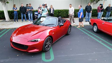 mazda new cars 2016 2016 mazda mx 5 miata shows up at cars and coffee irvine
