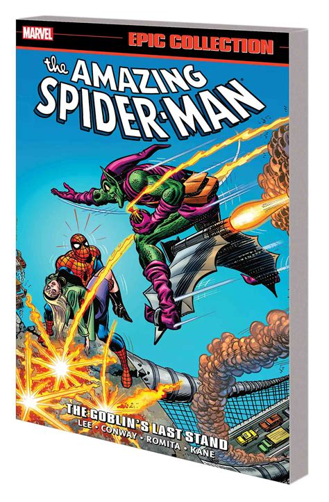 amazing spider man epic collection feb170996 amazing spider man epic collection tp goblins last stand previews world