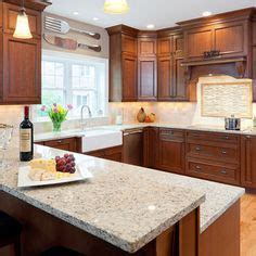 Granite Countertops Adding Practical Luxury To Modern Kitchen Designs Brown Countertops With Light Cabinets Kitchen Stuff Maple Cabinets Granite