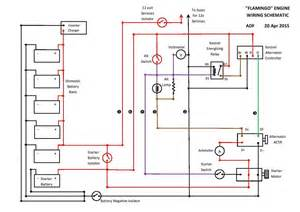 engine wiring diagram in quot word quot general boating canal
