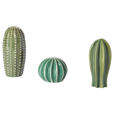 ikea decorations sj 196 lsligt decoration set of 3 green ikea