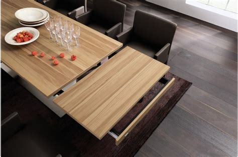 modern expandable dining tables  huelsta digsdigs