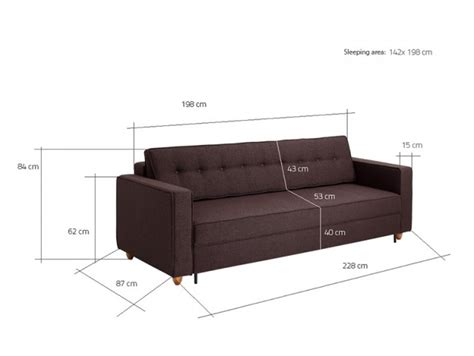 Zigo Modern 3 Seater Sofa Bed in Purple   Funique.co.uk