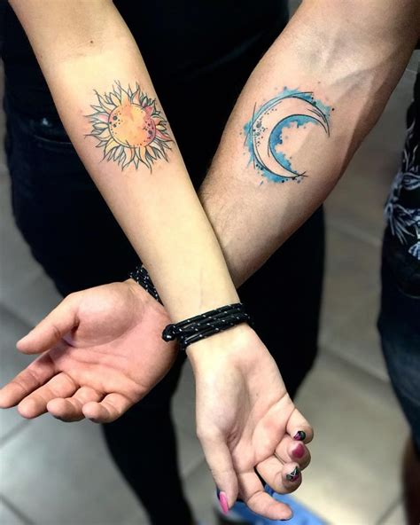 his and hers tattoos 120 cutest his and hers ideas make your bond stronger