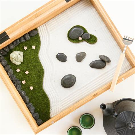 Diy Japanese Rock Garden 25 Best Ideas About Miniature Zen Garden On Miniature Fairies Miniature