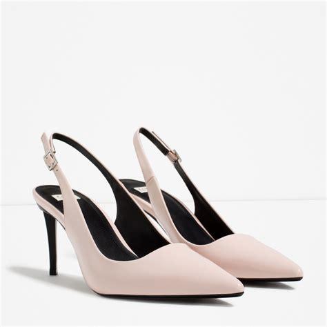 high heel slingbacks slingback high heel shoes 28 images faith ivory satin