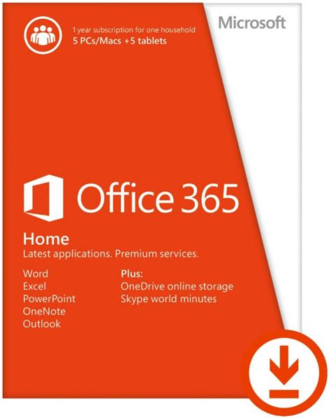 home microsoft office office 365 home 30 discount 163 55 99