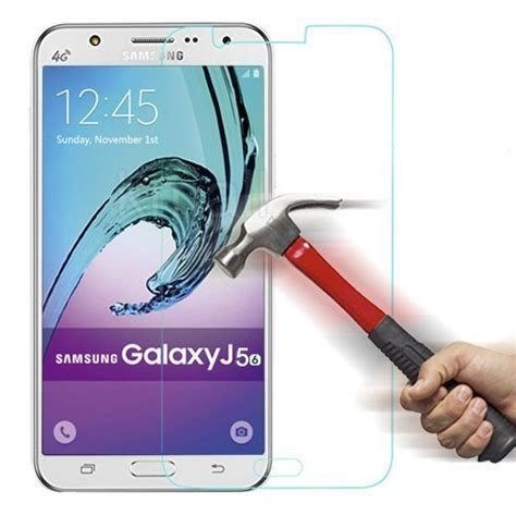 Samsung Galaxy J5 2016 Zineq Tempered Glass Anti Gores Screen Guard 0 3mm anti explosion tempered glass till samsung galaxy j5 2016 themobilestore