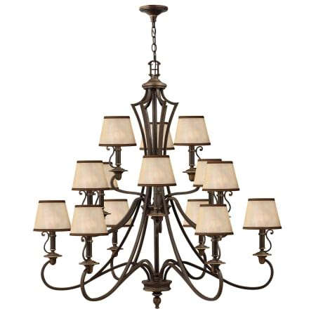hinkley lighting plymouth collection hinkley lighting 4249ob olde bronze plymouth 15 light 3