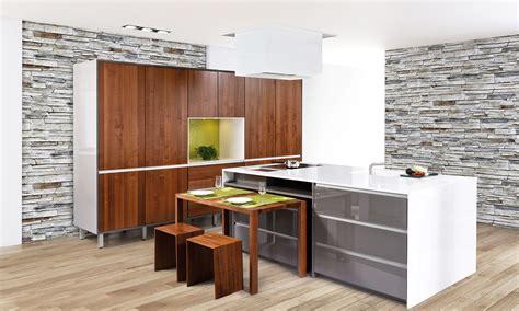 moderne einbauküchen bodenfliesen k 252 che beispiele