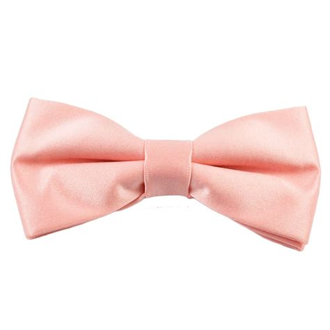 plain pink boys bow tie from ties planet uk