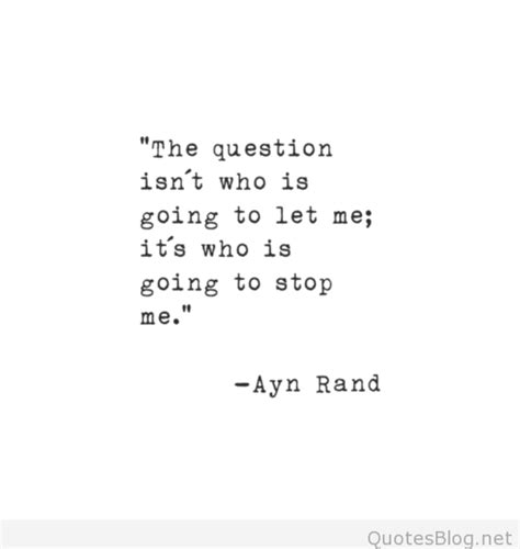 quot the book to read is not the ayn rand quote