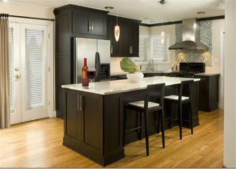 espresso kitchen cabinets in 9 sleek and premium style homeideasblog com espresso kitchen cabinets in 9 sleek and premium style