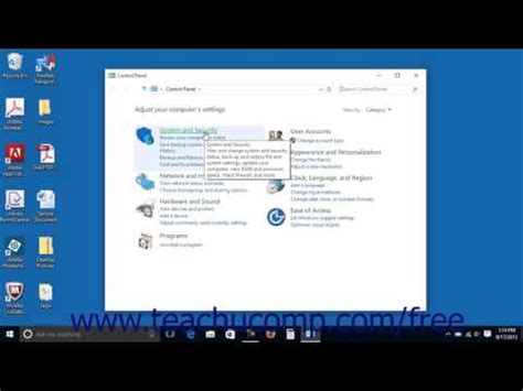windows 10 control panel tutorial windows 10 tutorial the control panel microsoft training