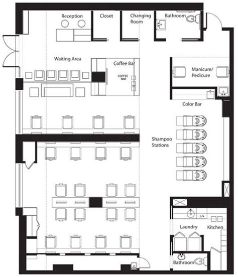 layout design group vasken demirjian hair salon interior by msk design group 8