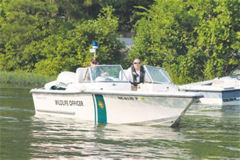 public boat rs on lake gaston nc wildlife officers promote safety lake gaston gazette