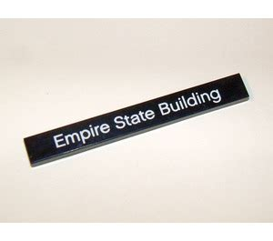 building your financial empire one brick at a time the financial glowup books lego tile 1 x 8 with quot empire state building quot decoration