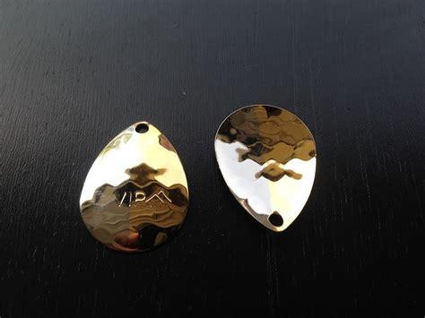 3 5 hex colorado nickel gold spinner blade vip outdoors