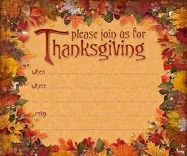 thanksgiving invitations 365greetings