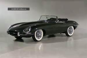 Jaguar E Type Roadster 1963 Jaguar E Type Series I Roadster