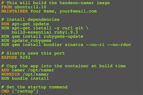 how to create docker images with a dockerfile cong nghe build dev env with docker