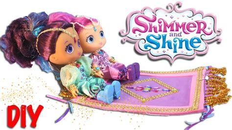 shimmer  shine toys magic flying carpet diy
