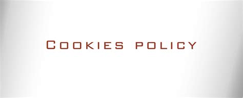 Cookies policy osteria martinelli