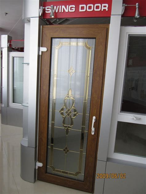 door swing china pvc swing door china pvc door upvc doors